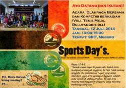 Kompetisi Olahraga GIII 2014